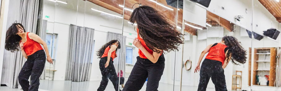 Dans i spegelsal