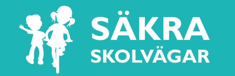 Logga för Säkra skolvägar