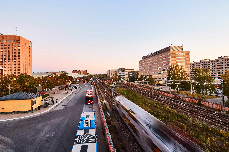 Kollektivtrafik i Sollentuna centrum