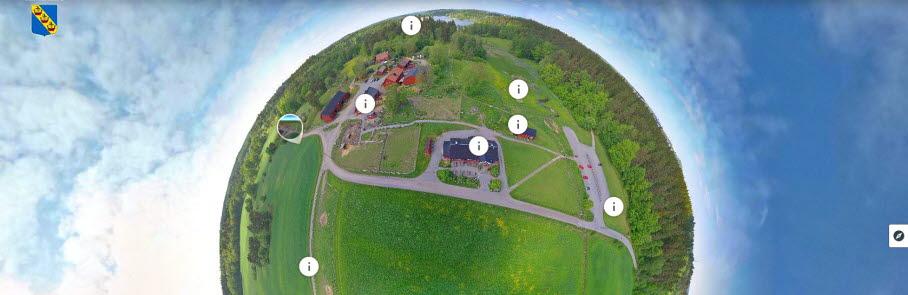 VR-bild över naturreservat