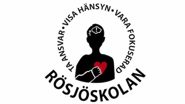 Rösjöskolans logotyp