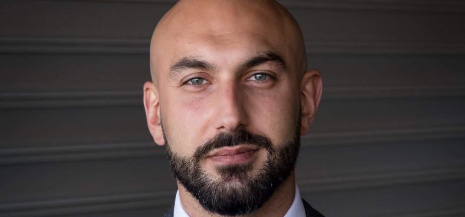 Bashar Tancro Hussein, vinnare av Sollentuna Trygghetspris