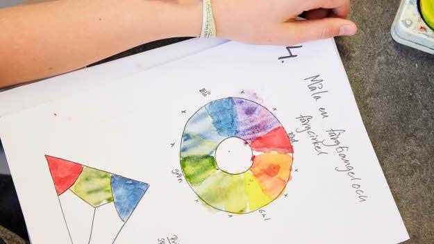 Undervisning med färg