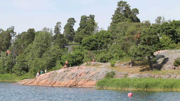 Edsviken badberget