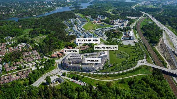 Nya bostäder i Silverdal 2020-2022