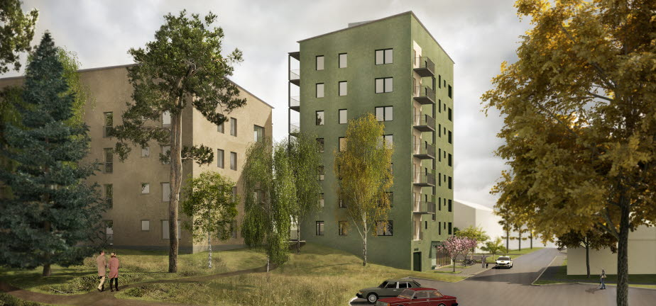 85 nya bostäder i Häggvik