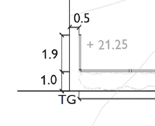 Exempelritningar som visar rätt och fel vid bygglovsansökan för plank