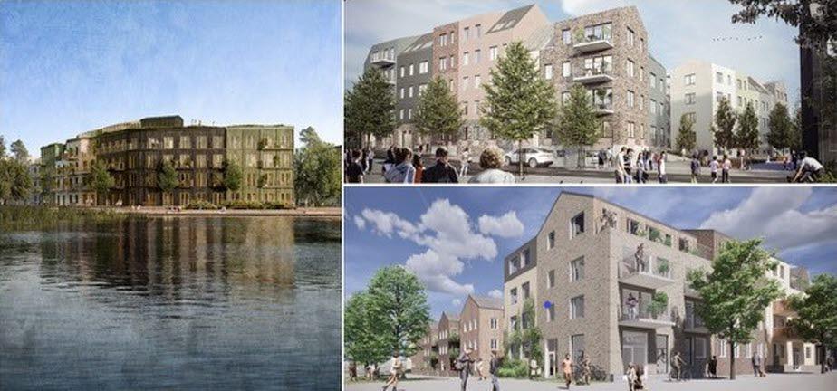 300 nya bostäder vid Väsjö torg
