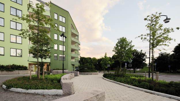 Lägenheter på Malmvägen