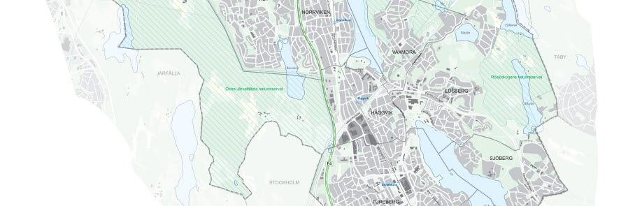 Karta över Sollentuna