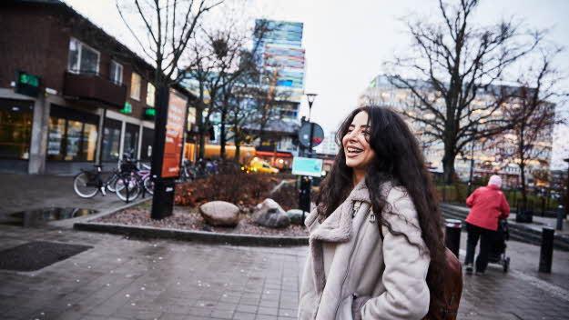 Tureberg, vinter, centrum, ungdom