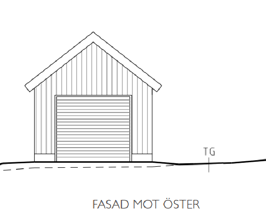 Fasadritning nybyggnad